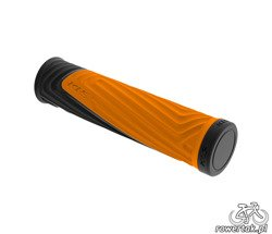 Chwyty kierownicy Kellys ADVANCER 2DENSITY 130 mm orange