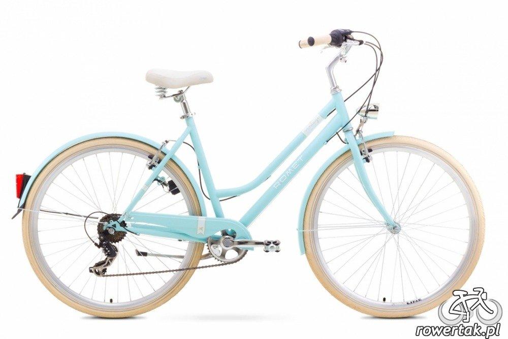 Rower Miejski Romet Vintage Women Koła 28 Cali Rama L Niebieski L 20